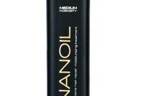Nanoil for hår med medium porøsitet (krusete, matt og uregjerlig)